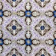 Detail of some typical portuguese tiles at Lisbon — Stockfoto