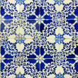 Stock Photo: Detail of some typical portuguese tiles at Lisbon