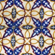 Detail of some typical portuguese tiles at Lisbon — Stock Photo