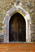 Detail of a castle door at Portugal — Stock Photo