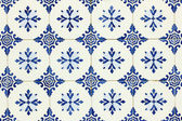 Detail of some typical portuguese tiles at Lisbon — Photo