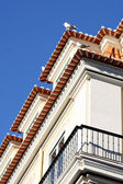 Détail d'un immeuble ancien à lisbonne, portugal — Photo