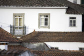 Detail of some houses and roof tiles at a little portuguese vill — Stock Photo