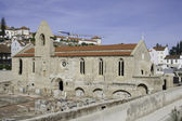 Santa CLara-a-Velha Monastery, Coimbra, Portugal — Stockfoto