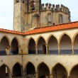 Stock Photo: Christ Convent, Tomar, POrtugal