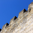 Detail of the Saint George Castle at Lisbon, Portugal - Stock Photo
