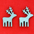 Christmas Deer Decoration Background — Stock Photo #16167449