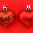 Red Christmas Heart — Stock Photo #16188957