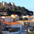 Castle of Saint George Castle, Lisbon, POrtugal - Foto Stock