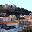 Stock Photo: Castle of Saint George Castle, Lisbon, POrtugal