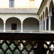 Stock Photo: Cloister, Toledo, Spain