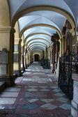 Loretokirche cloister, Salzburg, Austria — Stock Photo