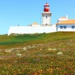 Cabo da Roca at Portugal is the most western poit of Europe — Stock Photo