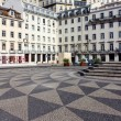 Town Hall square, Lisbon, Portugal — Stock Photo