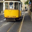 Famous Tram 28, Lisbon, Portugal — Stock Photo #19366477