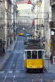 Famous Tram 28, Lisbon, Portugal — Stock Photo