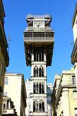 Santa Justa lift, Lisbon, Portugal — Stock Photo