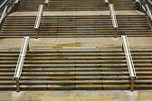 Dettaglio di alcune scale — Foto Stock