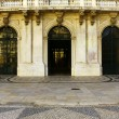 Stock Photo: Detail of main entrance of Town Hall, Lisbon, Portugal