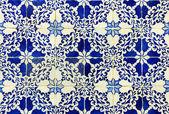 Azulejos, portuguese tiles — Stock Photo