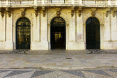 Detail of the main entrance of the Town Hall, Lisbon, Portugal — Stock Photo