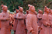 Chinese Terracotta Warriors — Stock Photo