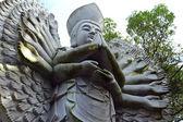 东方雕像 — 图库照片