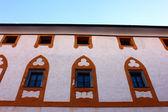 Detay eski bir bina, salzburg, avusturya — Stok fotoğraf