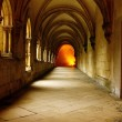 Stock Photo: AlcobacMonastery, Alcobaca, Portugal