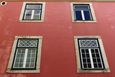 Detail of some old buildings at Lisbon, Portugal — Stock Photo