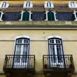 Detail of an old building at Lisbon, Portugal - Stock Photo