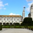 Jeronimos MOnastery, Lisbon, Portugal - Stock Photo