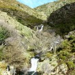 Stock Photo: Waterfalls at Lousmountain range, Portugal