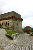 Castelo, porto de mós, portugal — Foto Stock