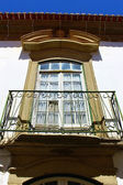 Detail of a window at Castelo Branco, Portugal — Stock Photo