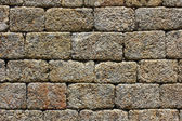 Detail of a stone wall — Stock Photo