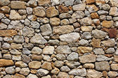 Detail of a stone wall — Foto Stock