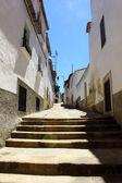 La città medievale di alcantara, spagna — Foto Stock