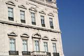 Commerce square buildings, Lisbon, Portugal — Stock Photo