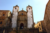 San Francisco Javier church in Caceres, Spain — Stock Photo