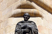 Statue at Caceres Cathedral, Caceres, Spain — Stock Photo