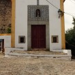 Detail of a little chapel, Castelo de Vide, Portugal — Stock Photo