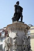 Camoes statue, Lisbon, Portugal — Stock Photo