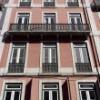 Detail of an old building, Lisbon, Portugal — Stock Photo #31946685