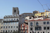 Kathedraal van lissabon, lissabon, portugal — Stockfoto