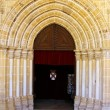 Stock Photo: Church door, Evora, Portugal
