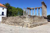 Roman temple, Evora, Portugal — Stock Photo