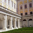 Mafra National Palace cloister, Mafra, Portugal — Stock Photo