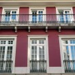 Detail of an old building, Lisbon, Portugal — Stock Photo #33829577