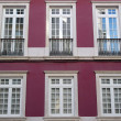 Detail of an old building, Lisbon, Portugal — Stock Photo